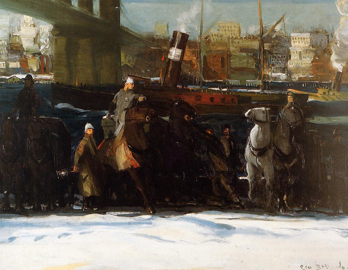 Snow Dumpers 1911 | George Bellows | Oil Painting