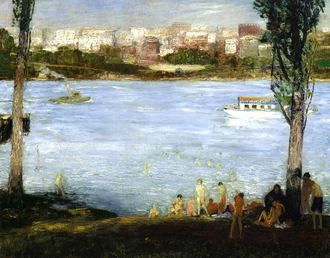 Summer City 1909 | George Bellows | Oil Painting