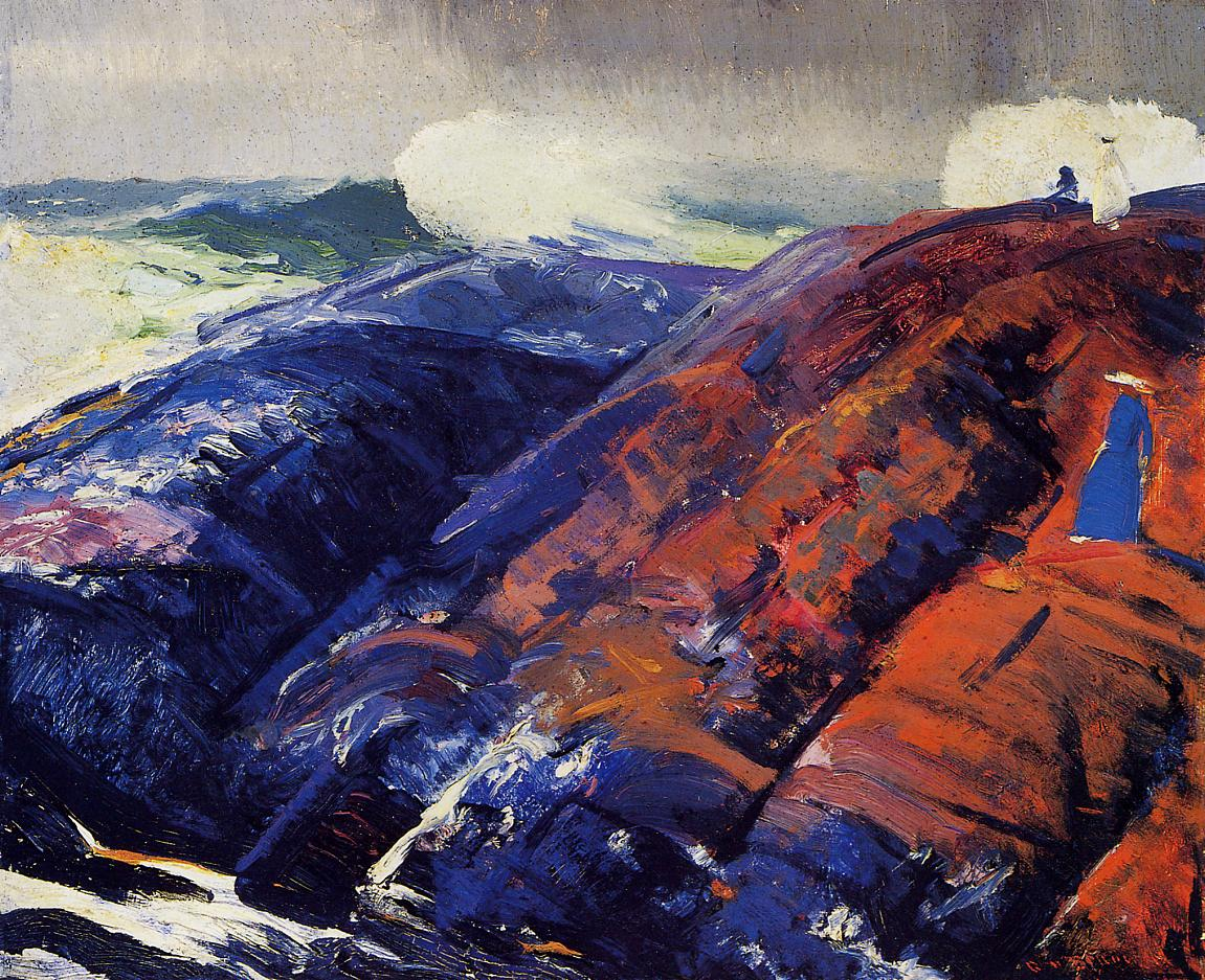 Summer Surf 1914 | George Bellows | Oil Painting