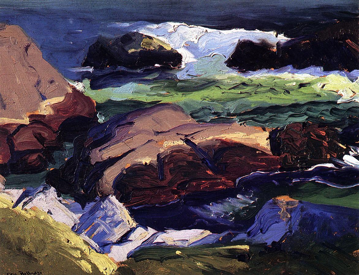 Sun Glow 1913 | George Bellows | Oil Painting