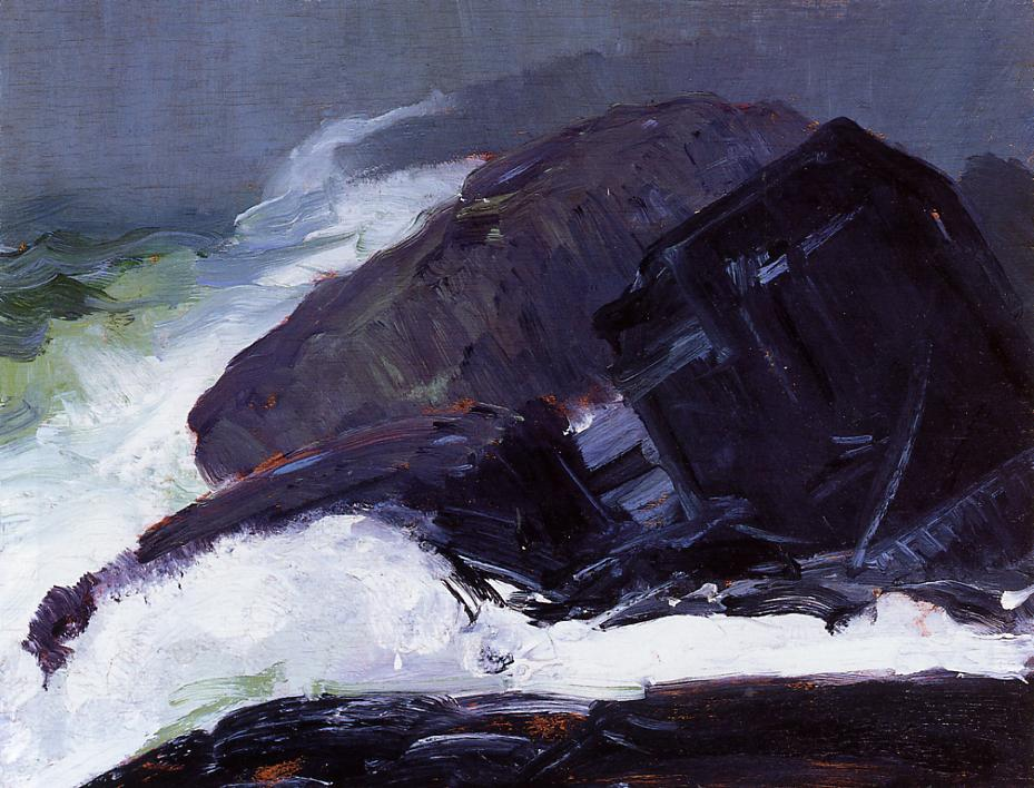 Tang of the Sea 1913 | George Bellows | Oil Painting