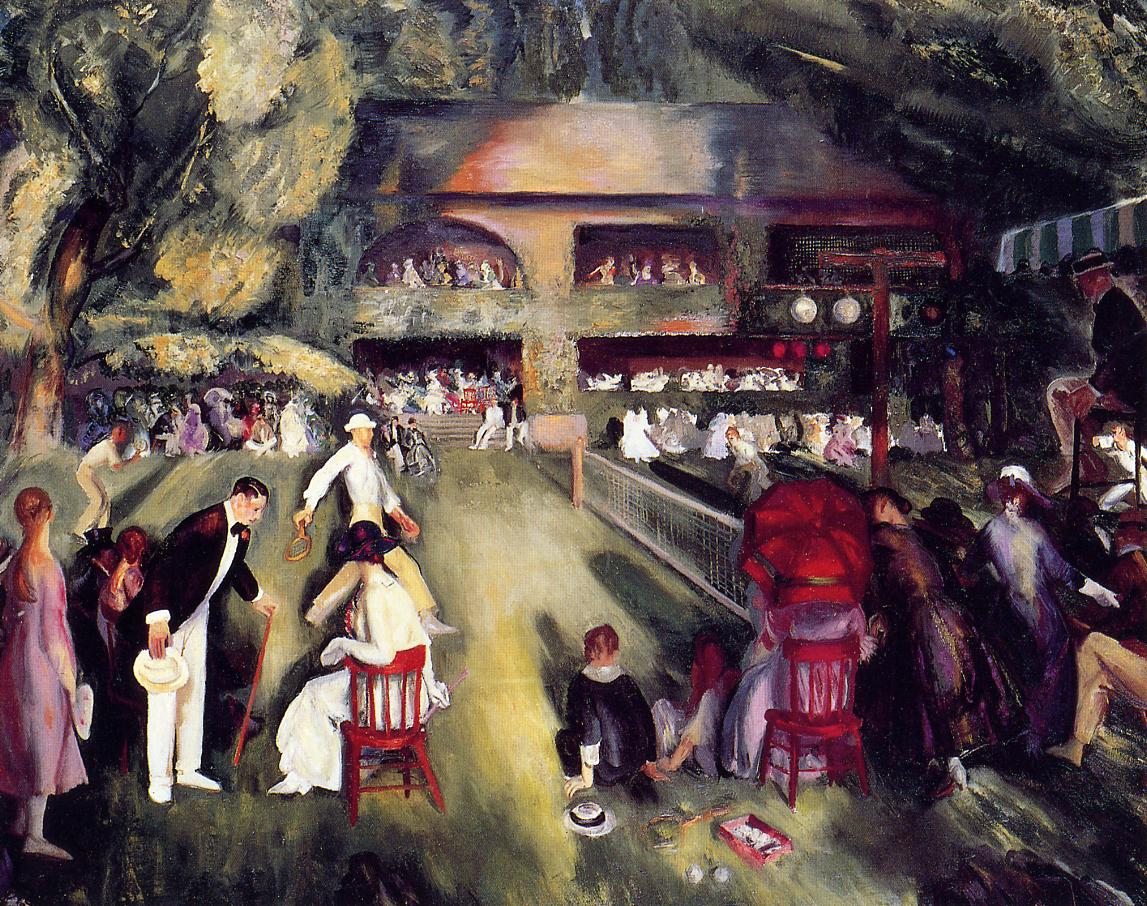 Tennis at Newport 1920 | George Bellows | Oil Painting