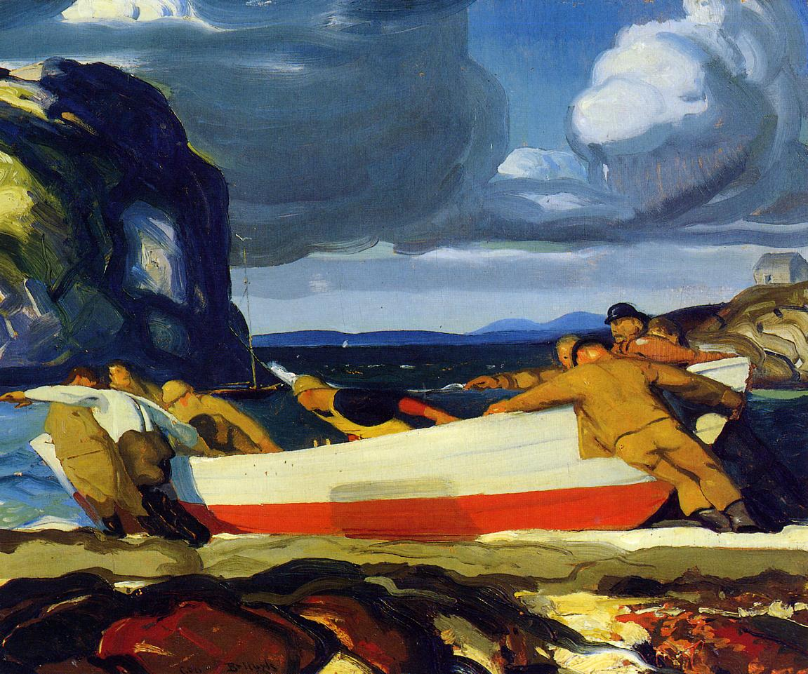The Big Dory 1913 | George Bellows | Oil Painting