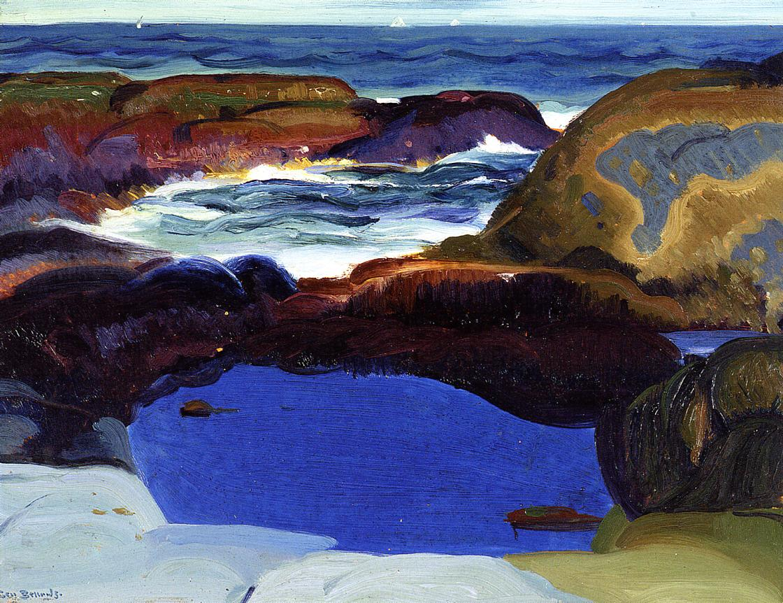 The Blue Pool | George Bellows | Oil Painting