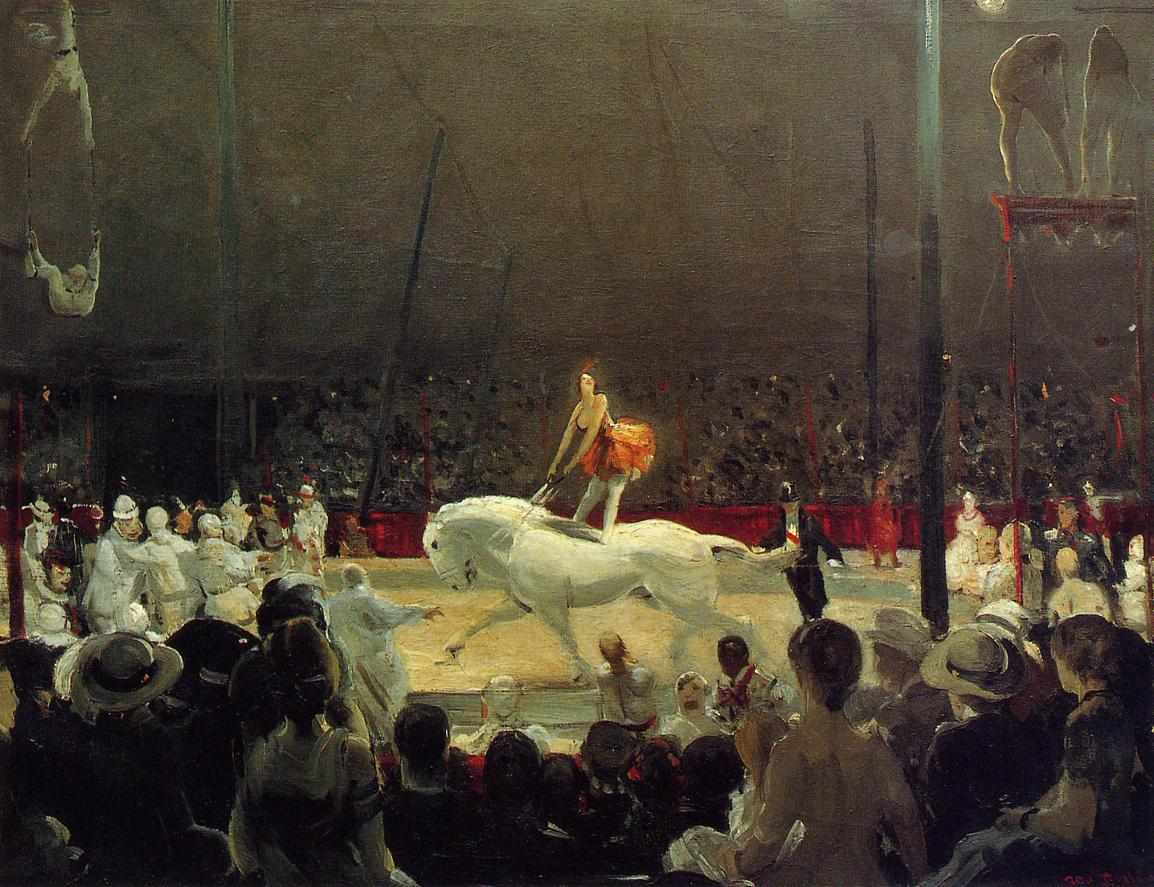 The Circus 1912 | George Bellows | Oil Painting