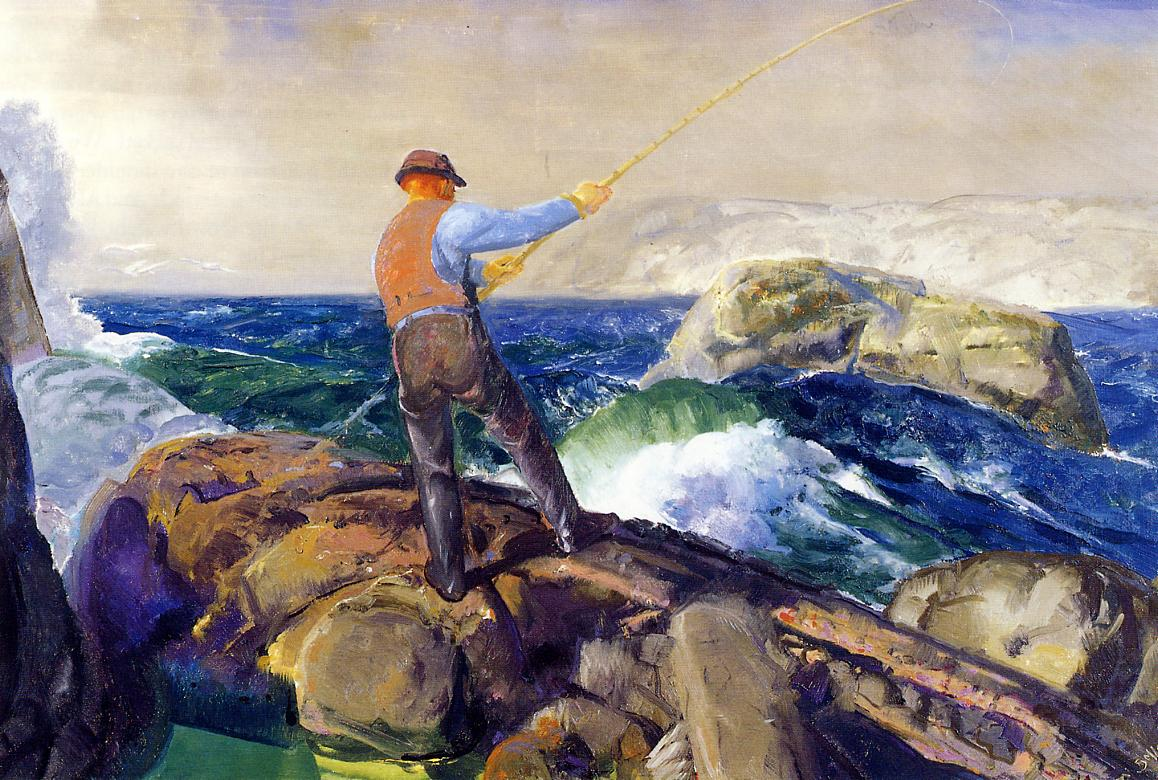 The Fisherman 1917 | George Bellows | Oil Painting