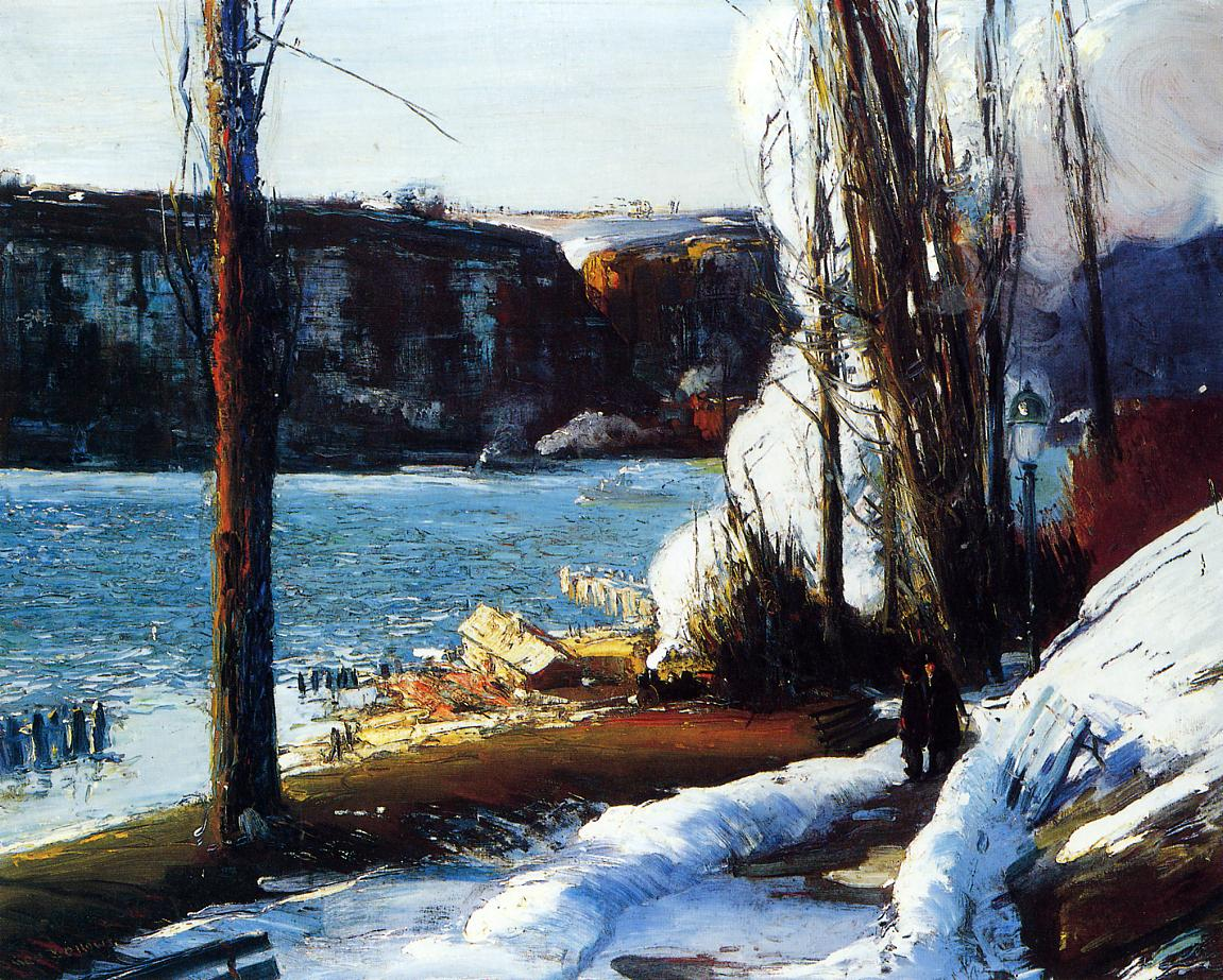 The Palisades 1909 | George Bellows | Oil Painting
