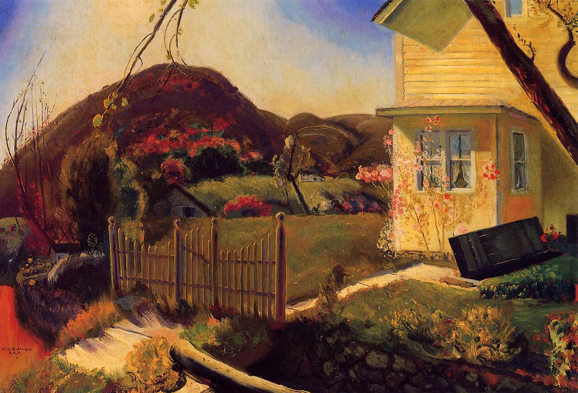 The Picket Fence 1924 | George Bellows | Oil Painting