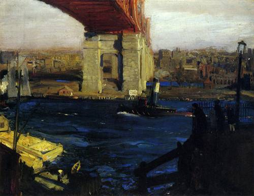 The Bridge Blackwell's Island 1909
