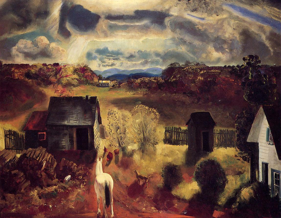 The White Horse 1922 | George Bellows | Oil Painting