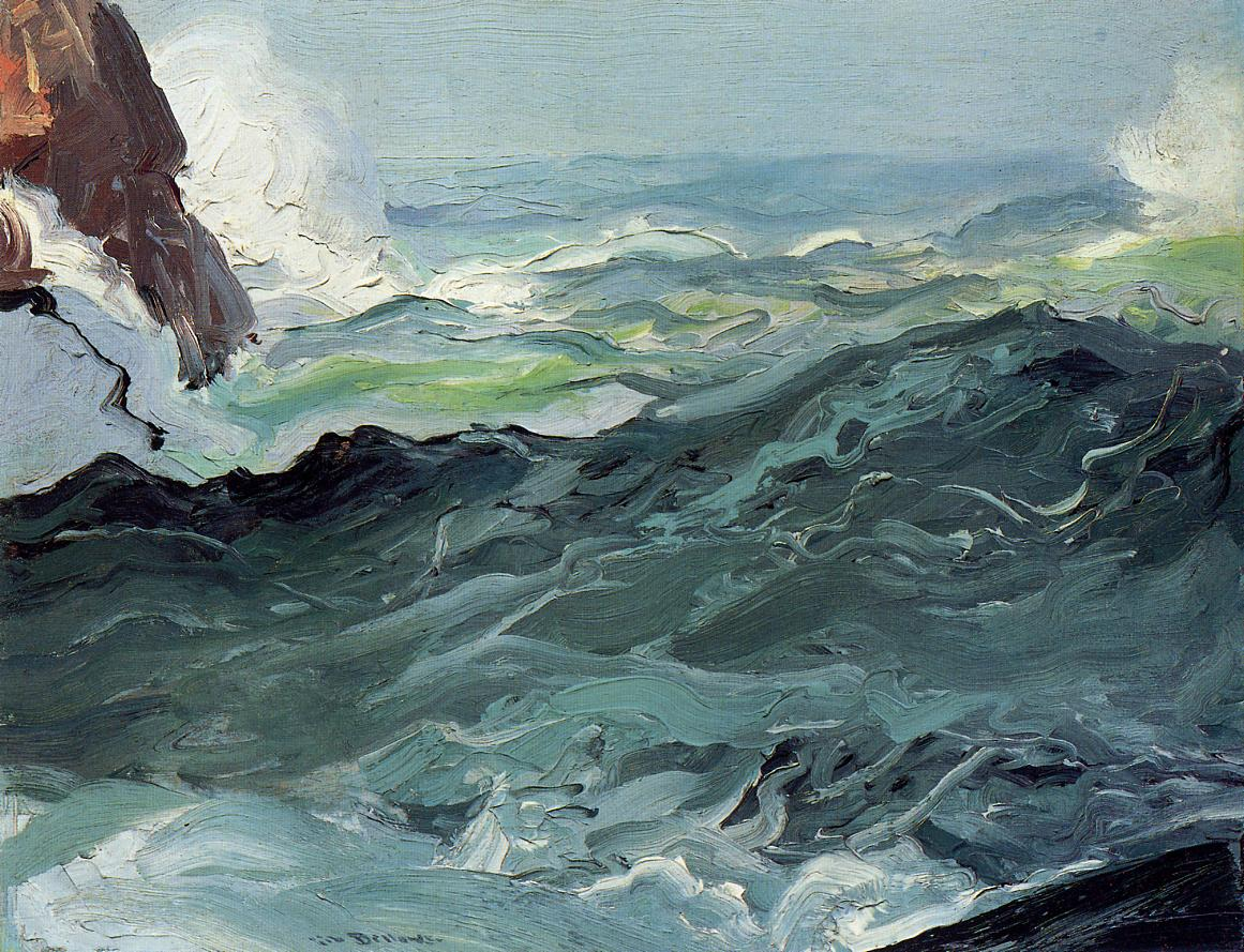 Wave 1913 | George Bellows | Oil Painting