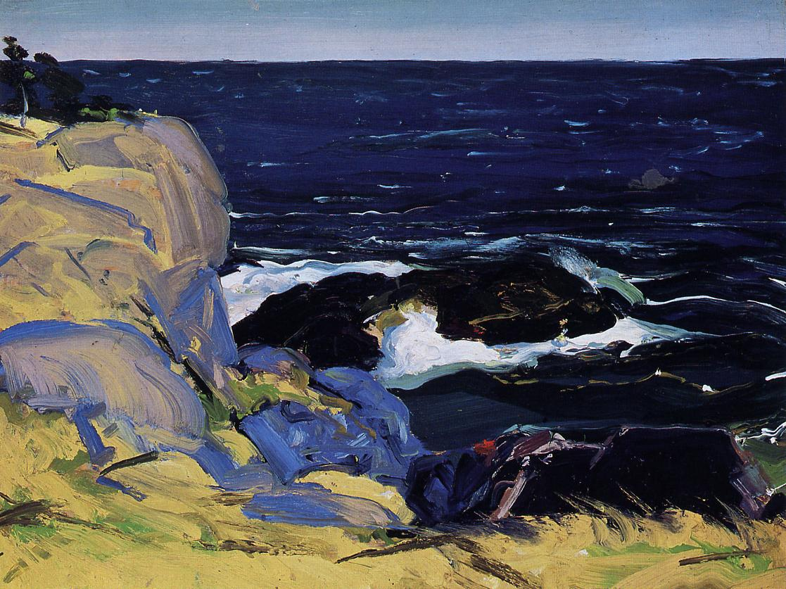 West Wind 1913 | George Bellows | Oil Painting