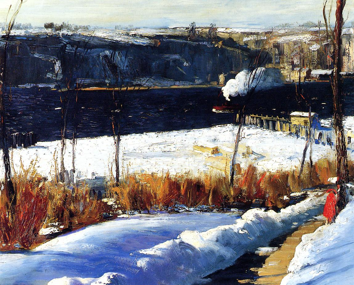 Winter Afternoon 1909 | George Bellows | Oil Painting