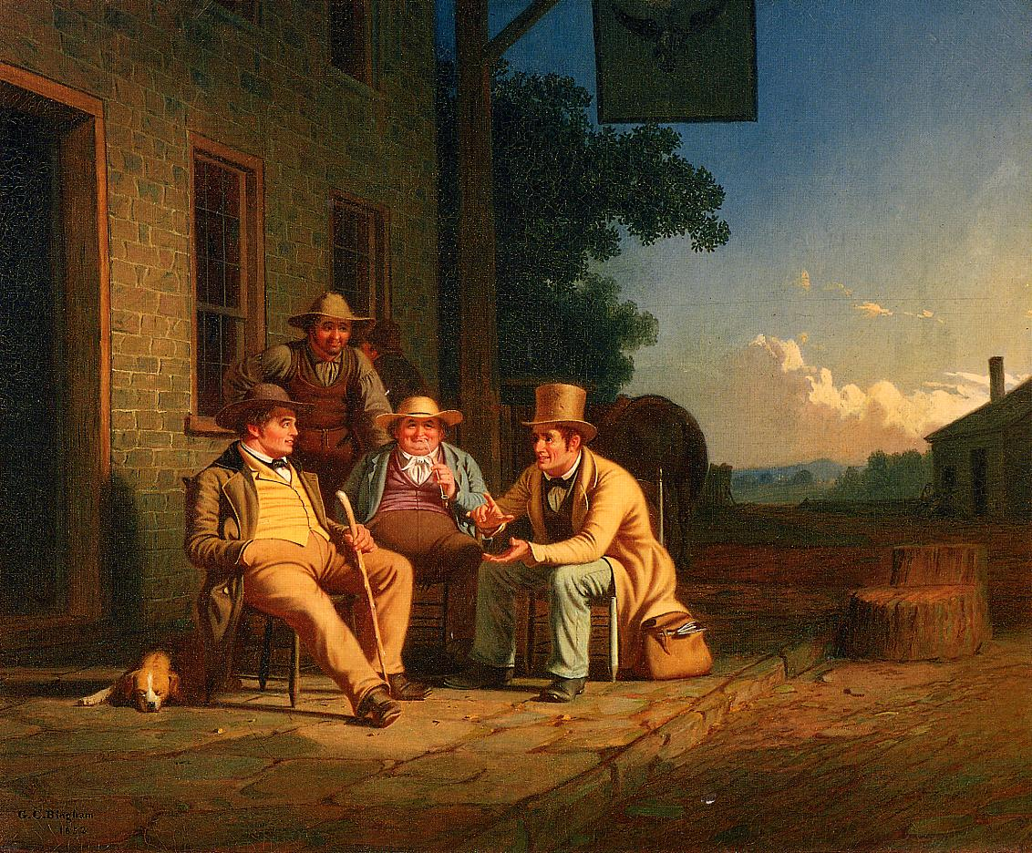 Canvassing for a Vote 1851-1852 | George Caleb Bingham | Oil Painting