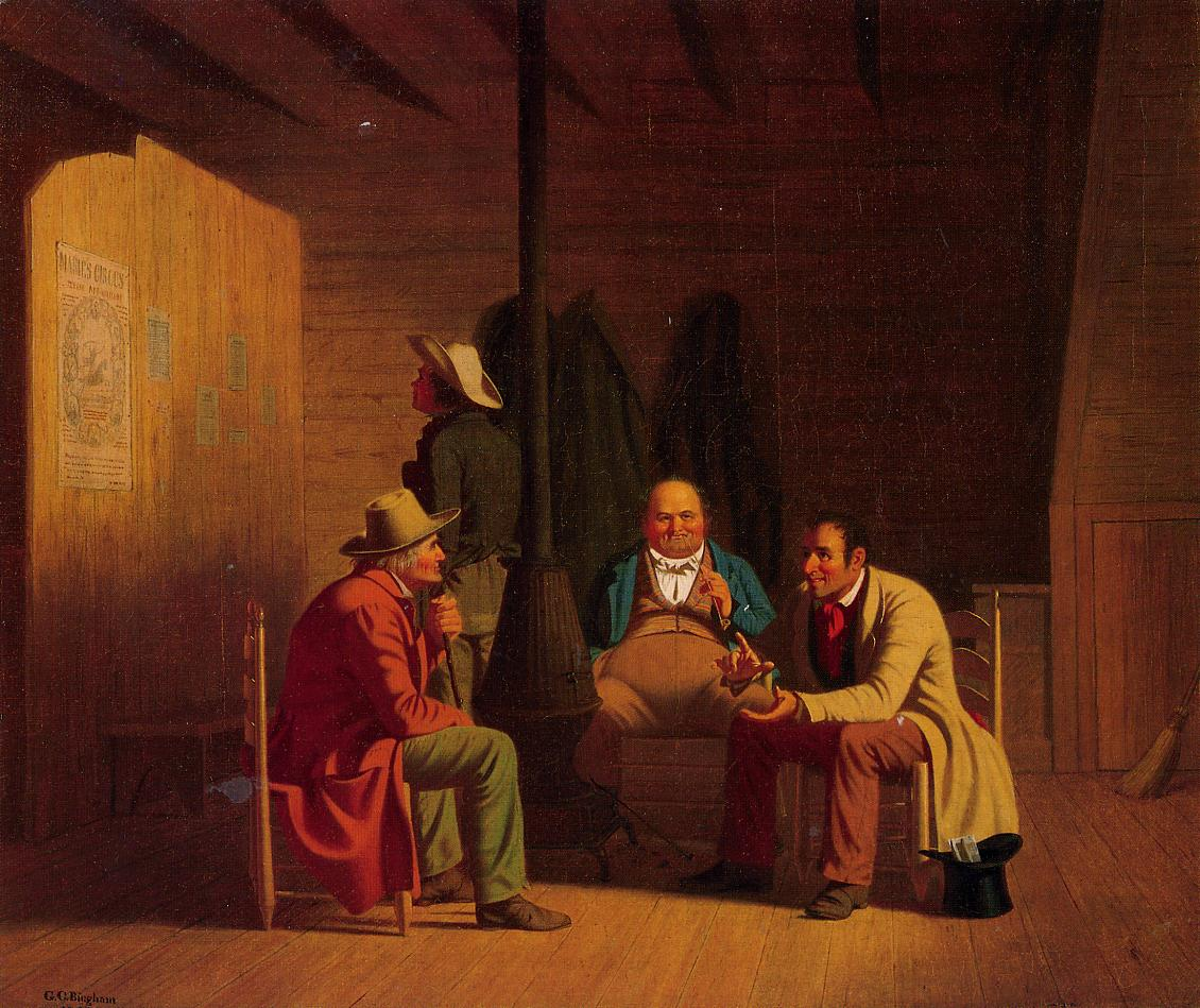 Country Politician 1849 | George Caleb Bingham | Oil Painting