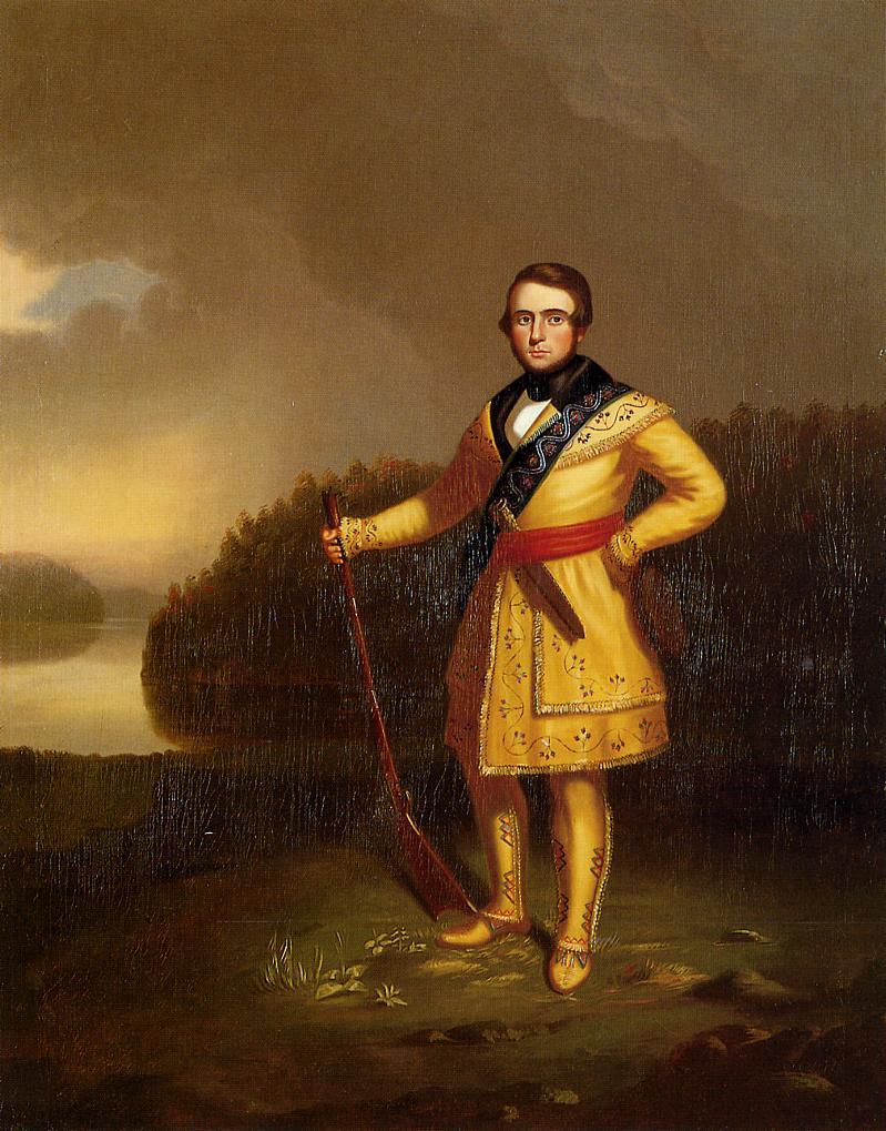 Leonidas Wetmore 1839-1840 | George Caleb Bingham | Oil Painting