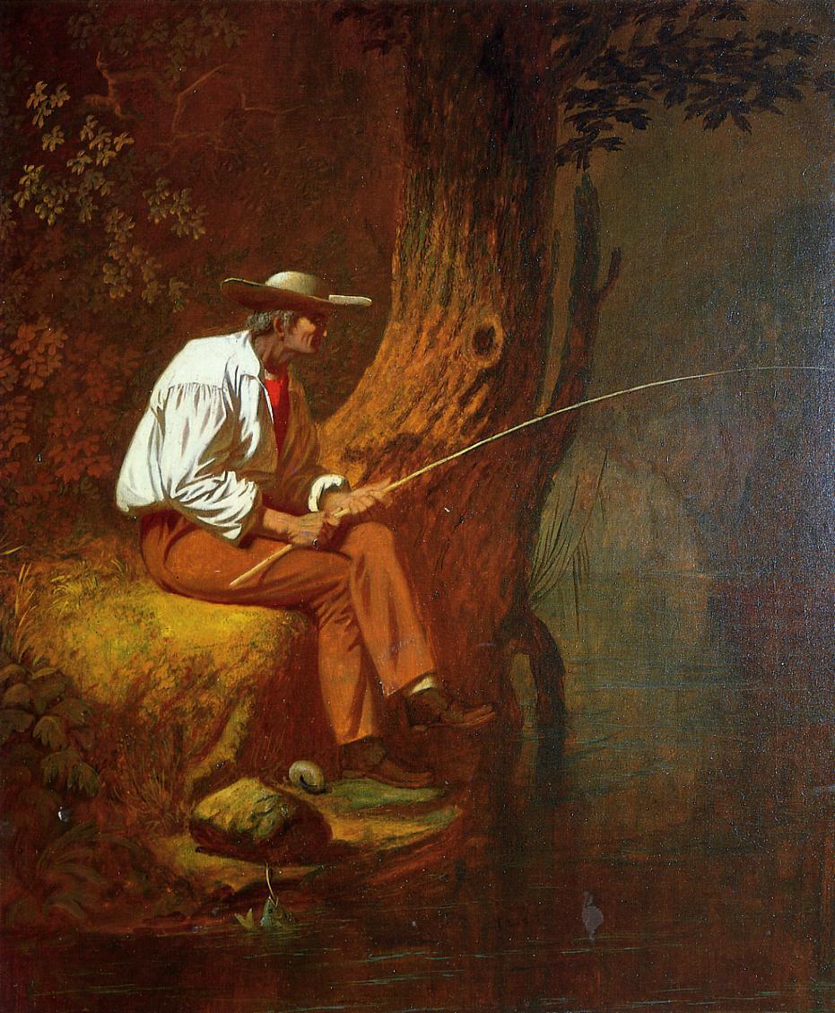 Mississippi Fisherman 1851 | George Caleb Bingham | Oil Painting