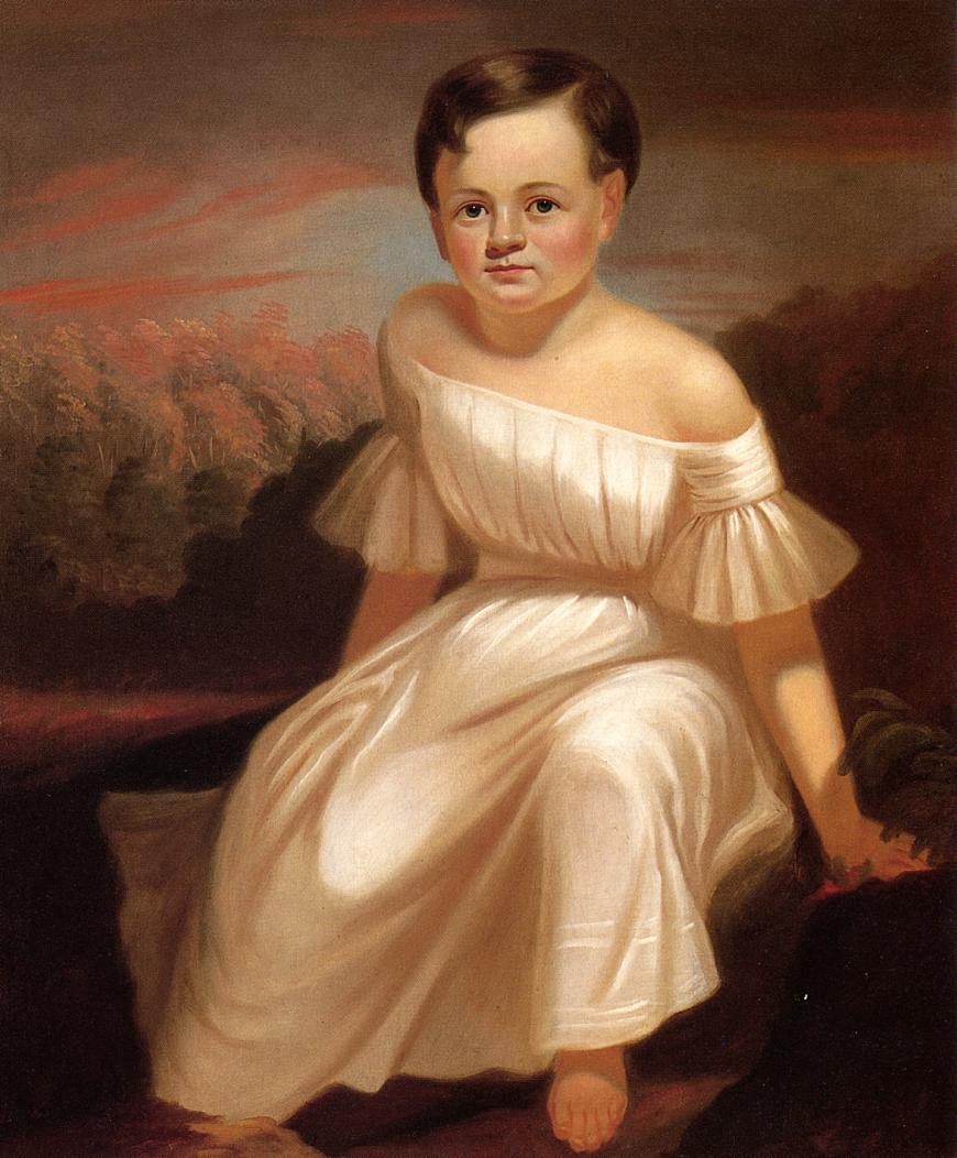 Miss Sallie Ann Camden 1839 | George Caleb Bingham | Oil Painting