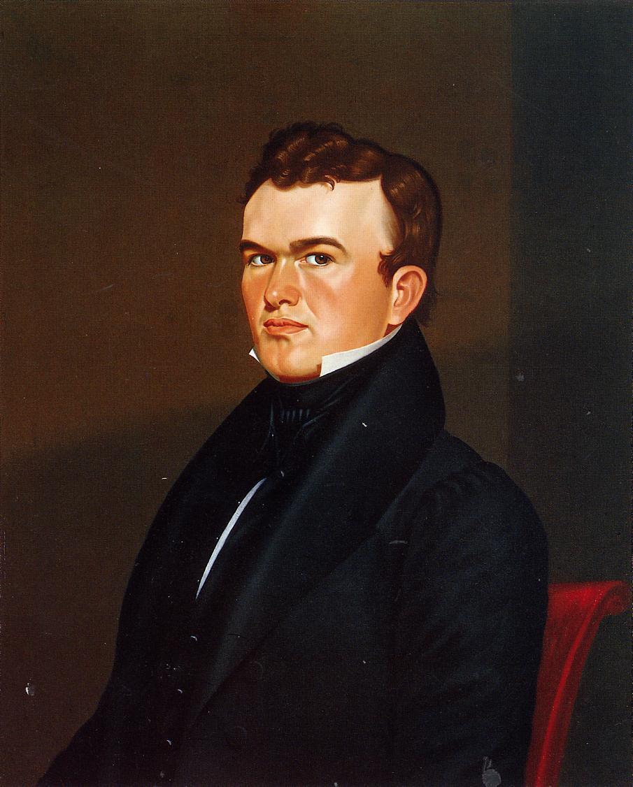 Self Portrait 1834-1835 | George Caleb Bingham | Oil Painting