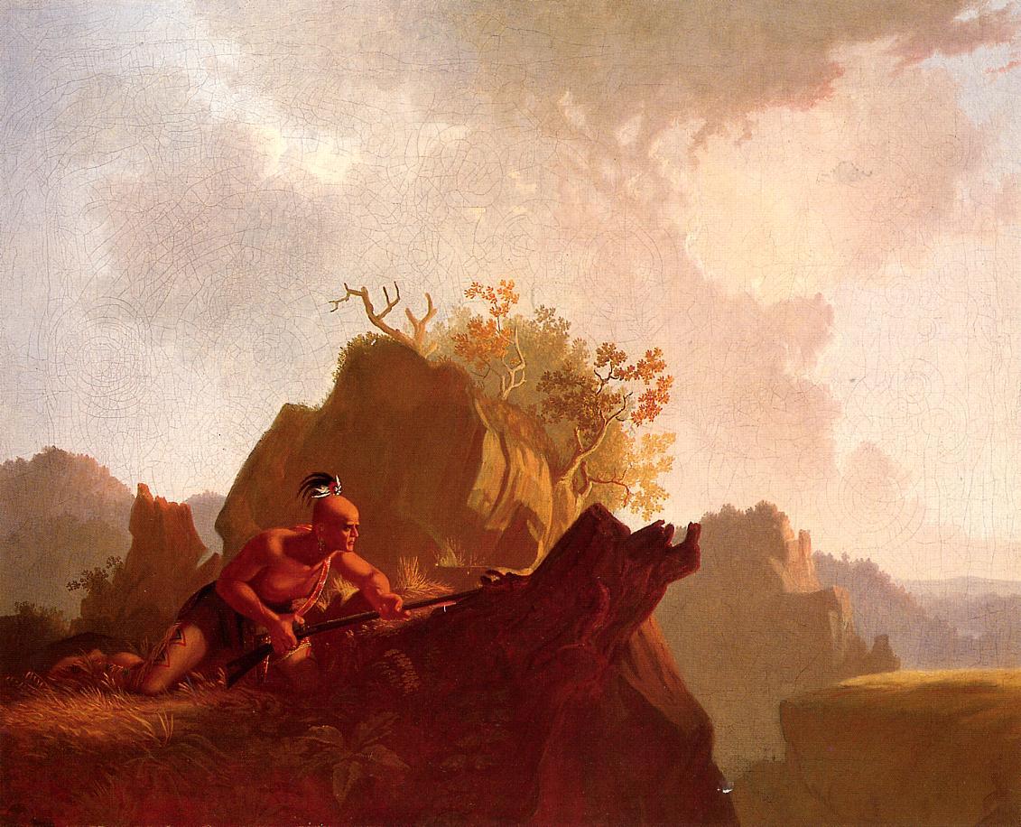 The Concealed Enemy 1845 | George Caleb Bingham | Oil Painting