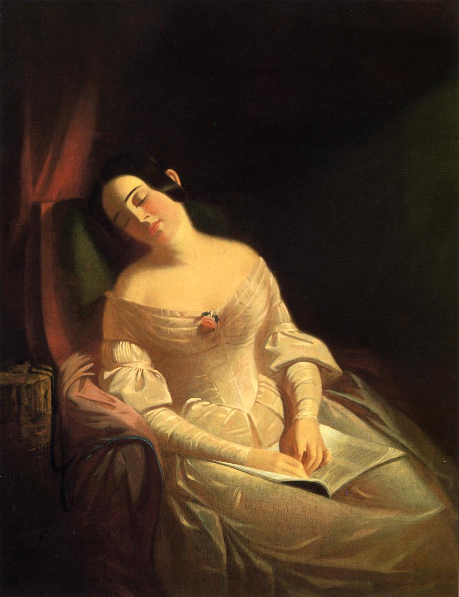 The Dull Story 1843-1844   George Caleb Bingham   Oil Painting