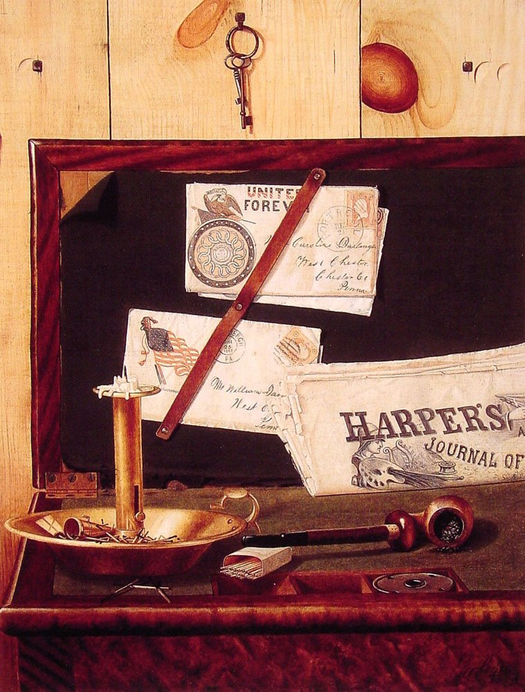 Harpers Weekly | George Cope | Oil Painting