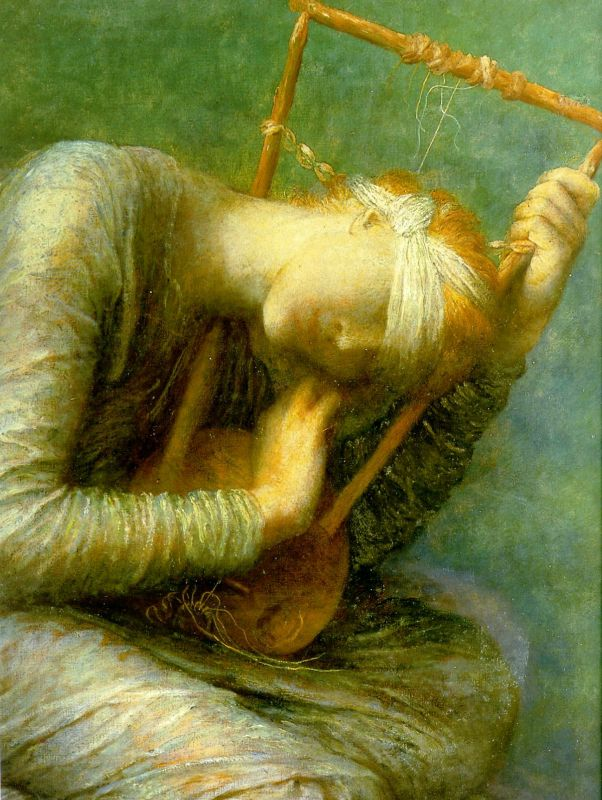 Hope Detail | George Frederick Watts | Oil Painting