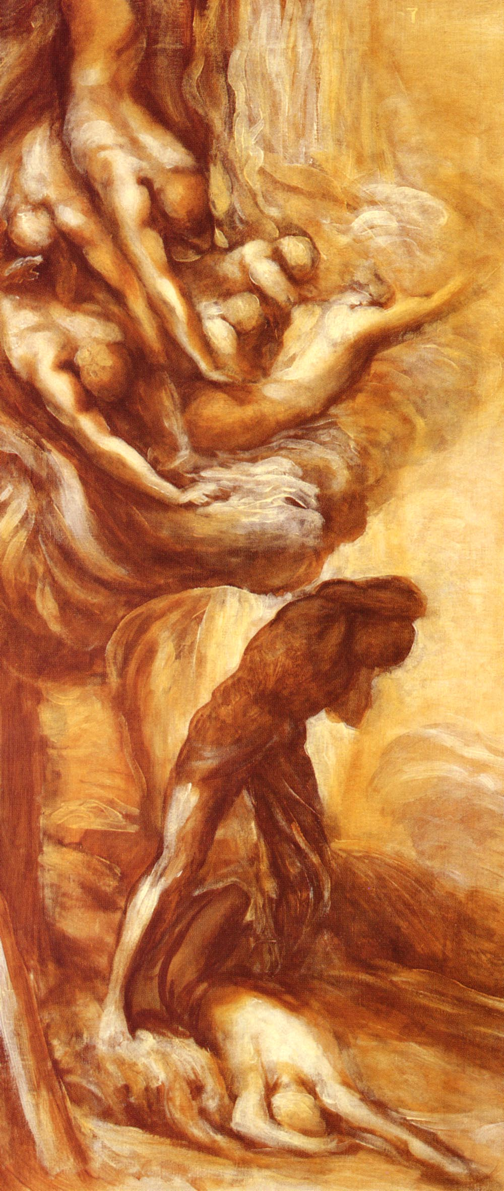 The Denunciation Of Cain | George Frederick Watts | Oil Painting