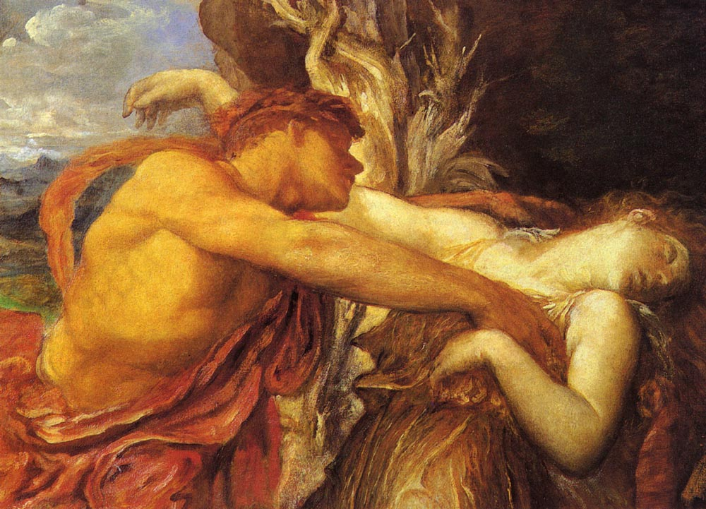 Orpheus And Eurydice | George Frederick Watts | Oil Painting