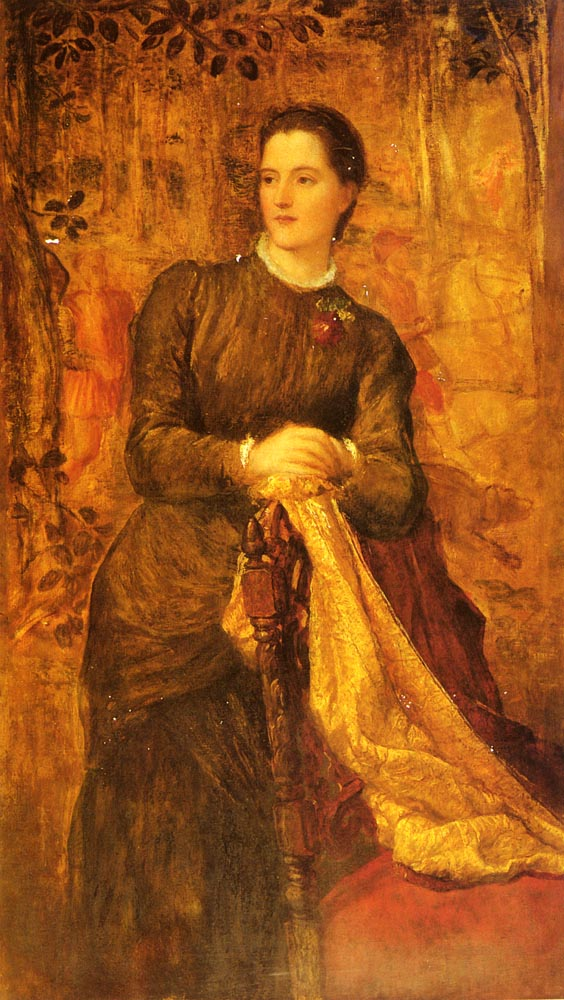 The Honourable Mary Baring | George Frederick Watts | Oil Painting