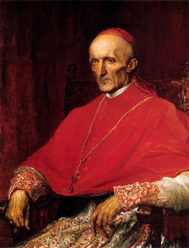 Cardinal Manning | George Frederick Watts | Oil Painting