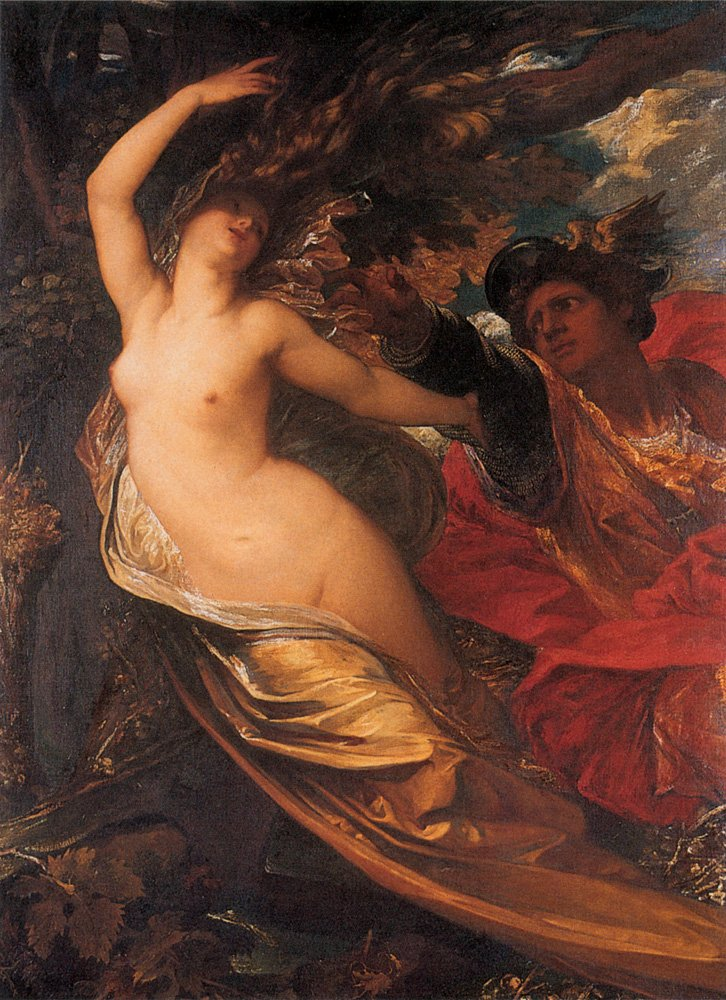 Orlando Pursuing The Fata Morgana | George Frederick Watts | Oil Painting