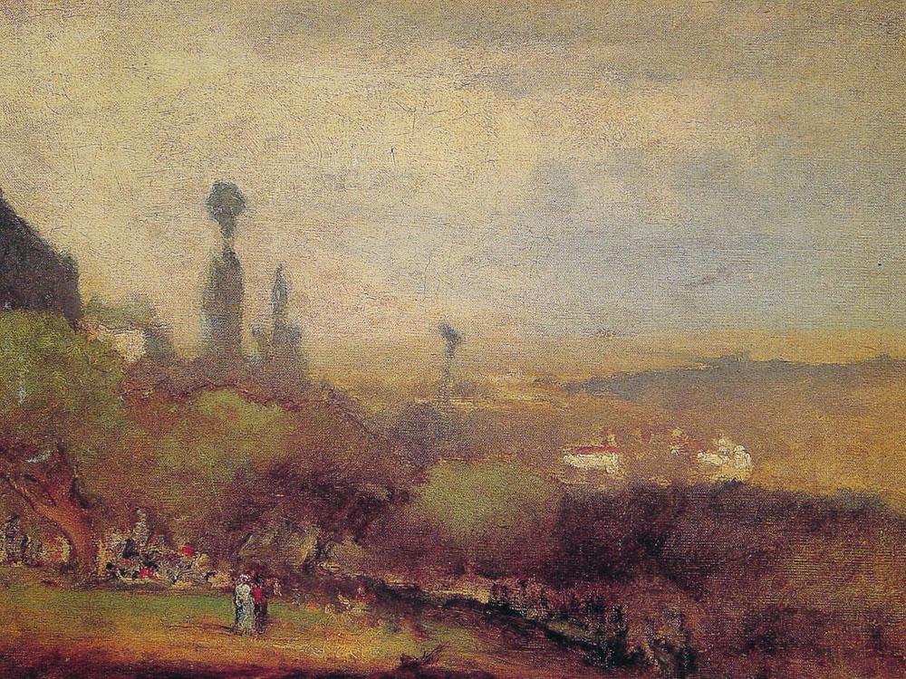 Monte Lucia Perugia | George Innes | Oil Painting