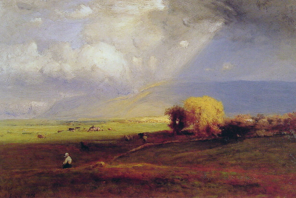 Passing Clouds Passing Shower | George Innes | Oil Painting
