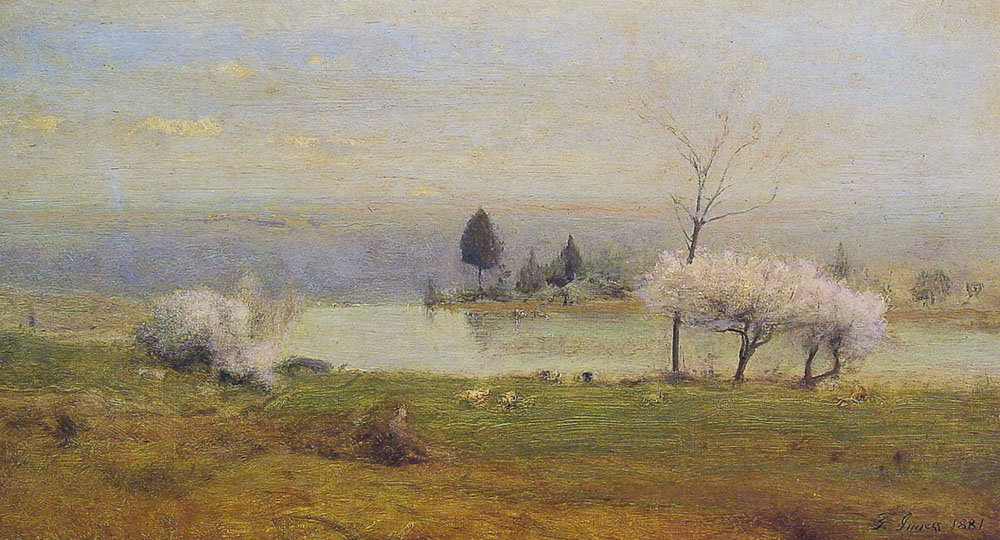Pond At Milton On The Hudson | George Innes | Oil Painting