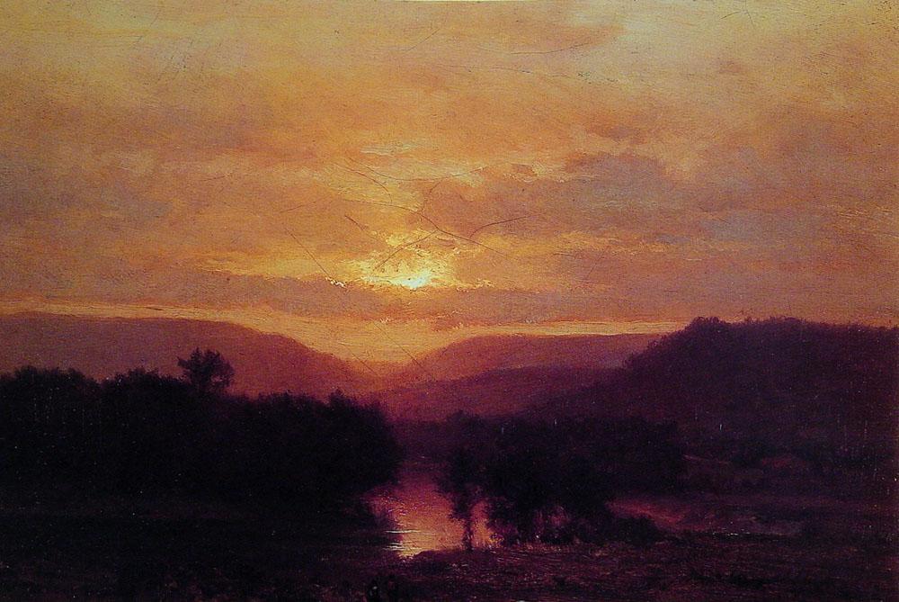 Sunset | George Innes | Oil Painting