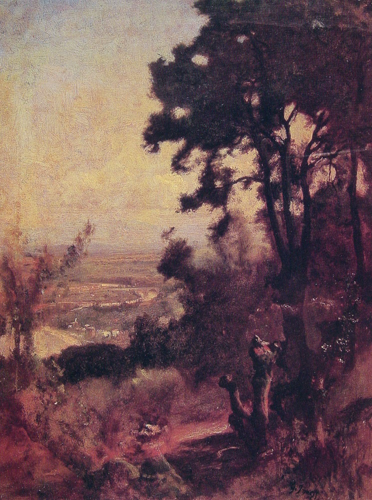 Valley Near Perugia | George Innes | Oil Painting
