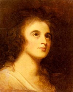 Portrait Of Emma Hamilton | George Romney | Oil Painting
