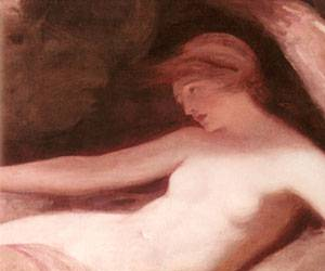 Reclining Female Nude | George Romney | Oil Painting
