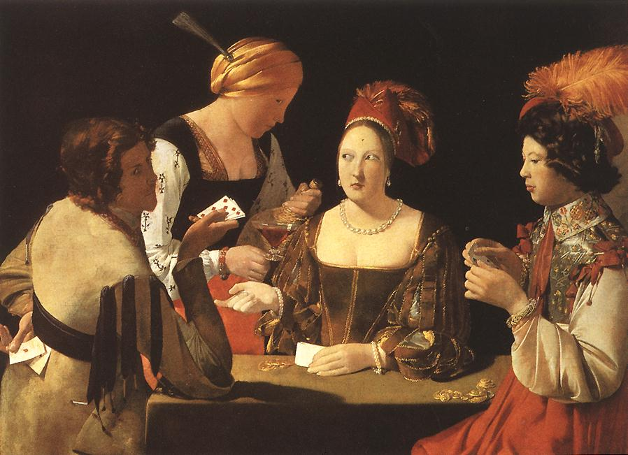 Cheater With The Ace Of Diamond 1620-40 | Georges De La Tour | Oil Painting