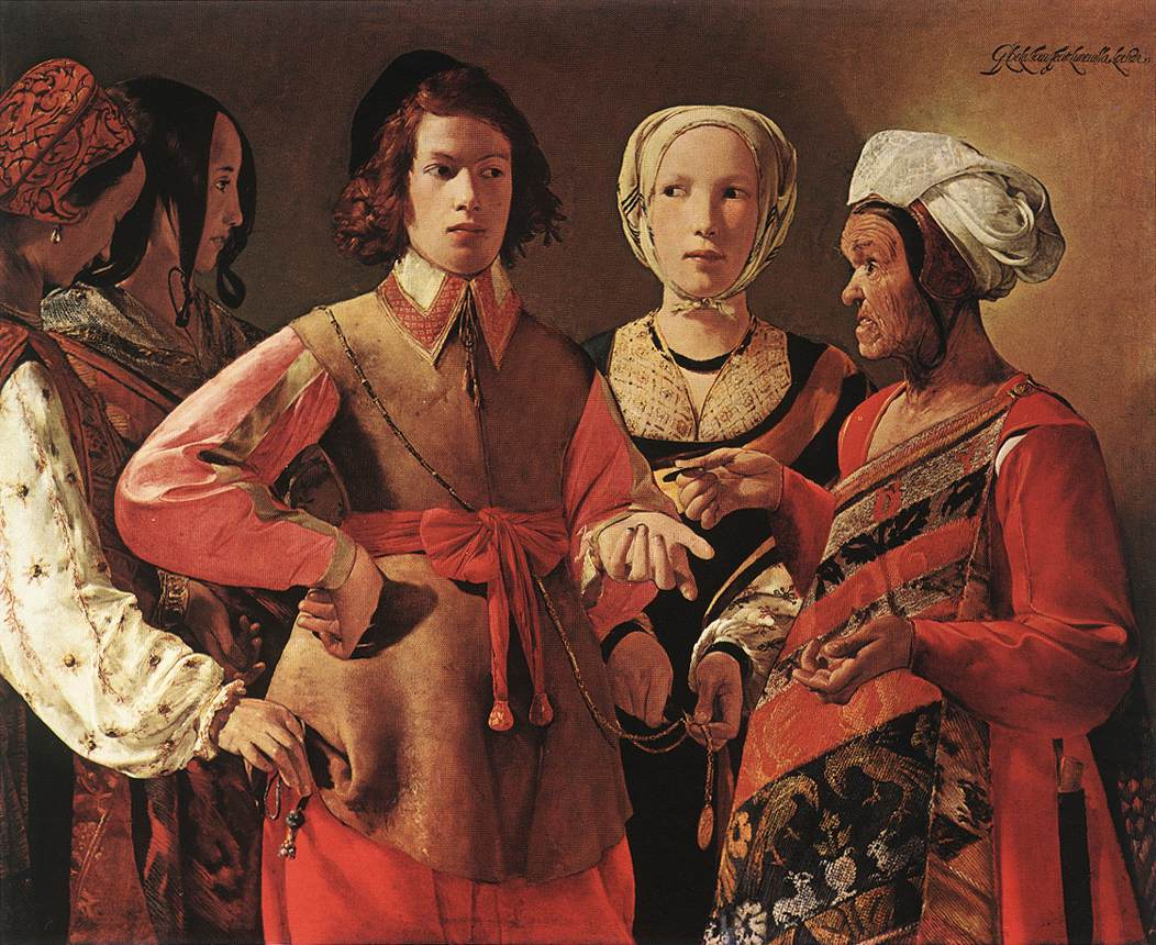 The Fortune Teller | Georges De La Tour | Oil Painting