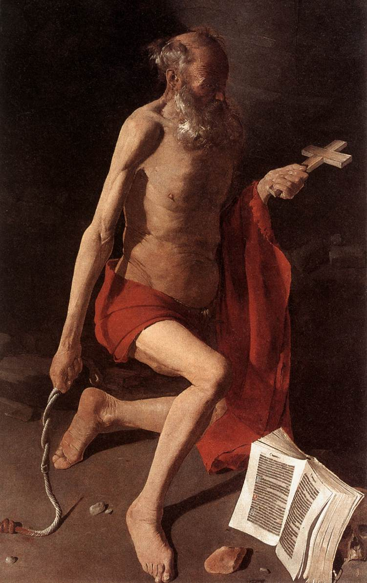 St Jerome 1630-35 | Georges De La Tour | Oil Painting