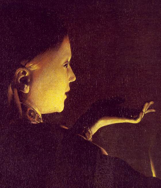 The Dream Of St Joseph (Detail) 1640 | Georges De La Tour | Oil Painting