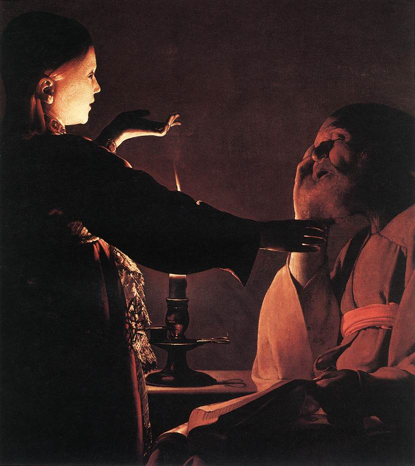 The Dream Of St Joseph 1640 | Georges De La Tour | Oil Painting