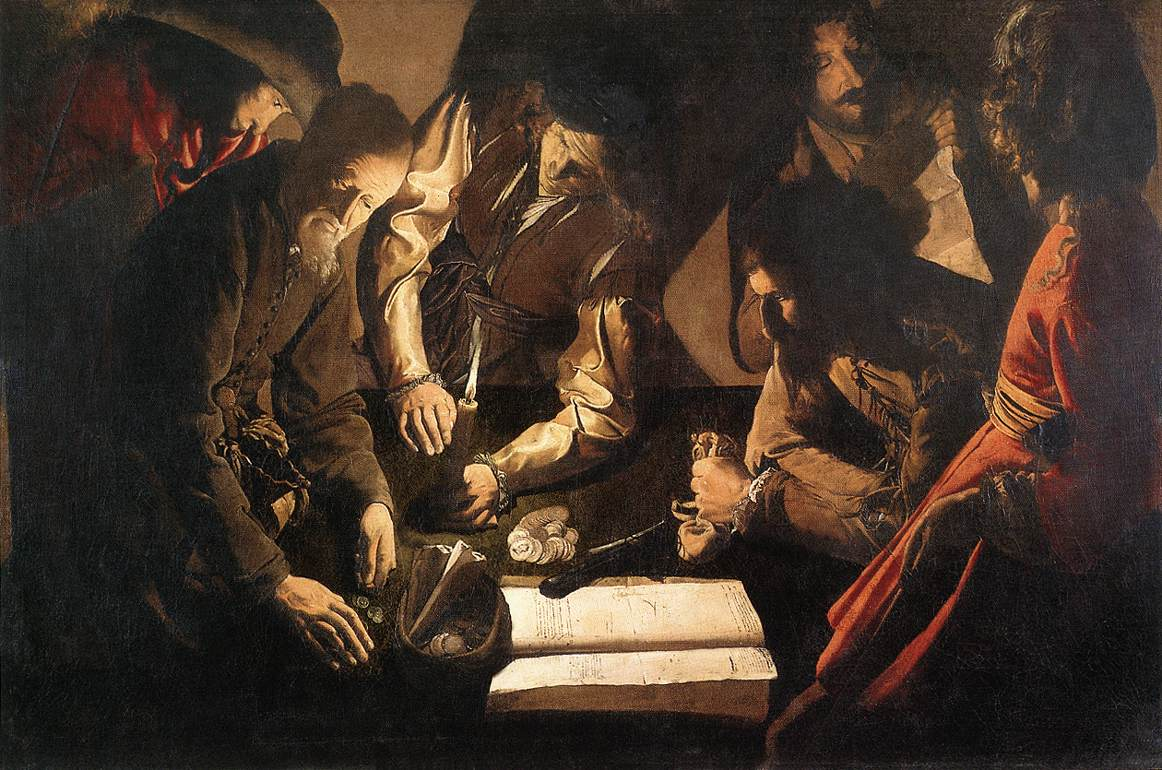 The Payment Of Dues 1630-35 | Georges De La Tour | Oil Painting
