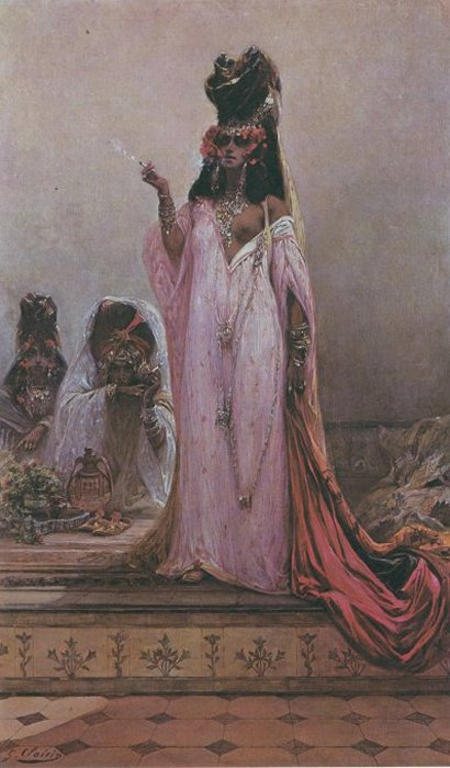 Harem Woman | Georges Jules Victor Clairin | Oil Painting