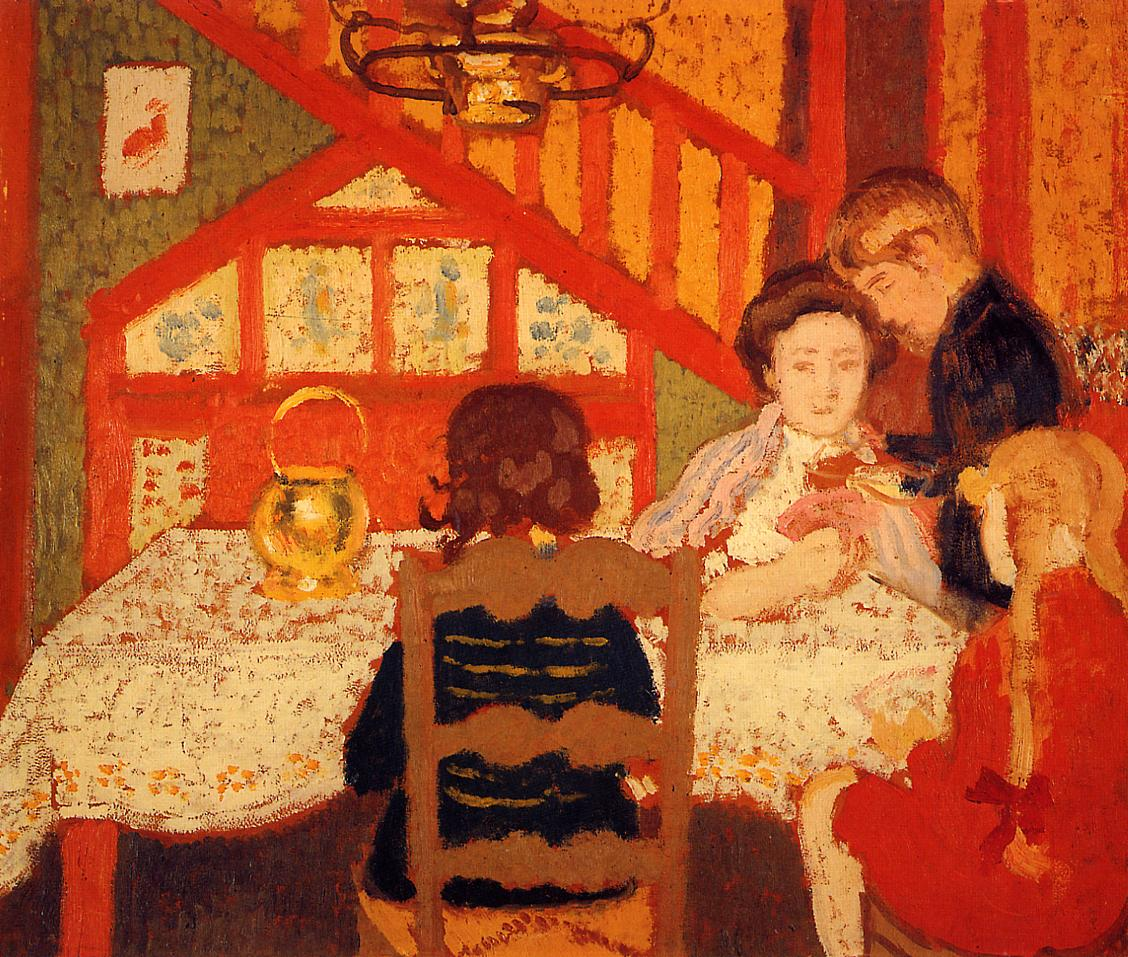 Family Gathering in Saint-Idesbald 1910 | Georges Lemmen | Oil Painting