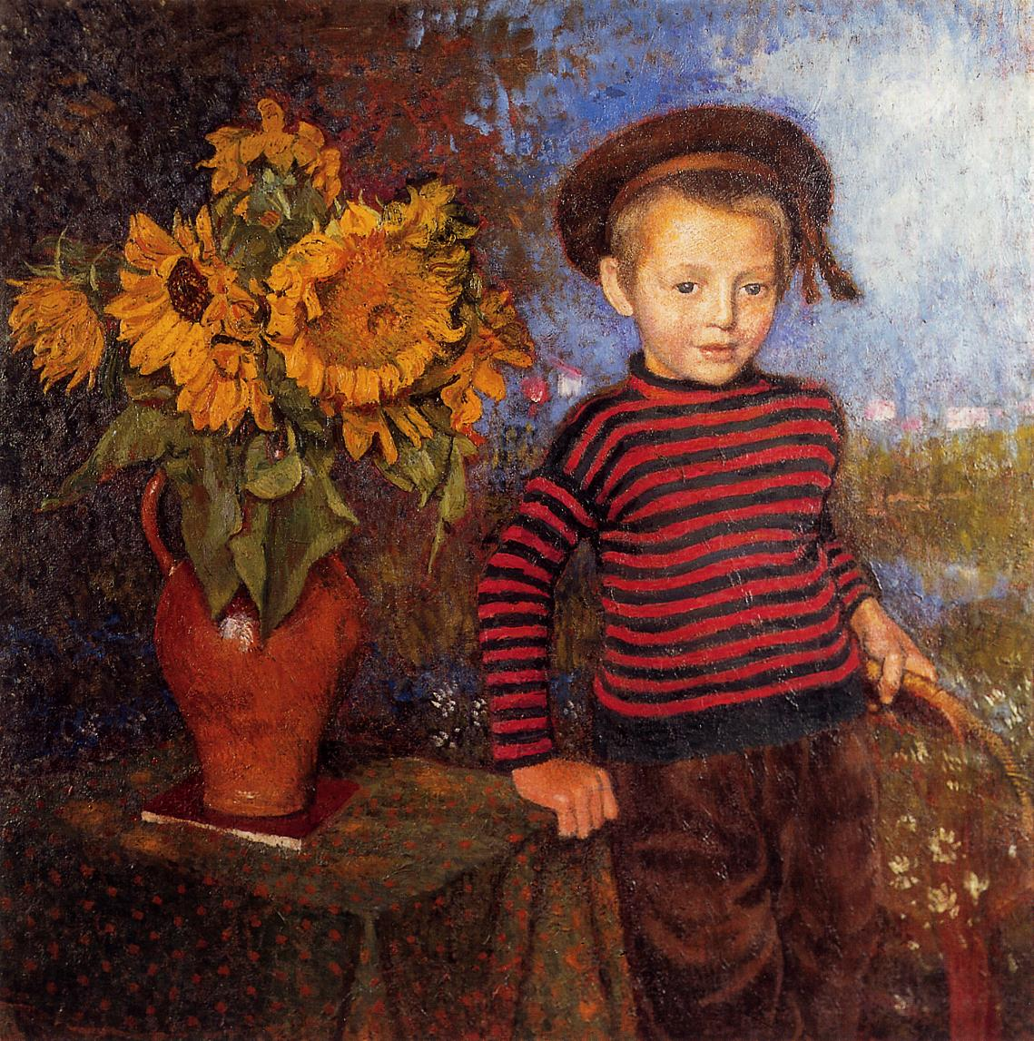 Little Pierre | Georges Lemmen | Oil Painting