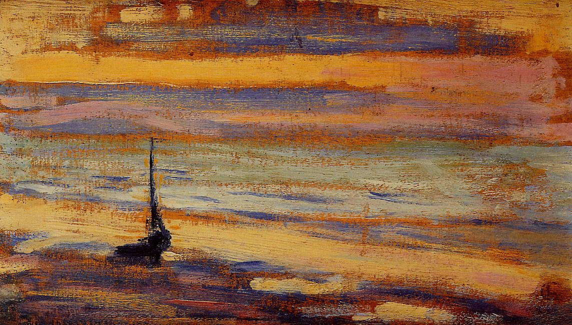 Neyst No.9 The Beach 1891 | Georges Lemmen | Oil Painting