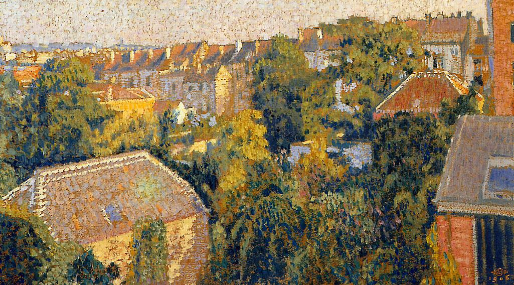 Rooftops 1906 | Georges Lemmen | Oil Painting